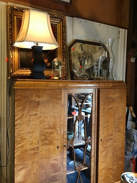 Antique Dining Cabinet