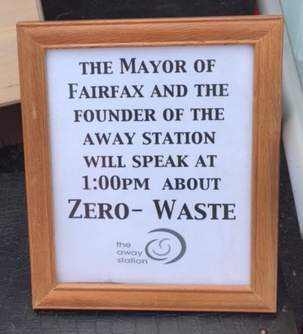 Zero Waste-Mayor speaking